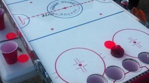 Alcoholic_Air_Hockey - beer pong