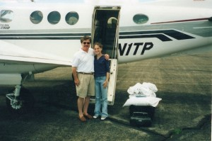 Christina-McDowell-then-Prousalis-with-her-father