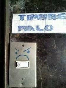 Costa Rica Angry Door Bell