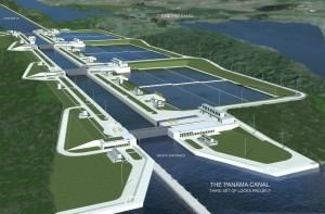 panama canal expansion - central america infrastructure 1