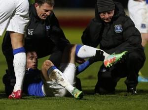 Bryan Oviedo breaks leg costa rica 1