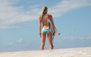 hot surf girl in bikinis 4