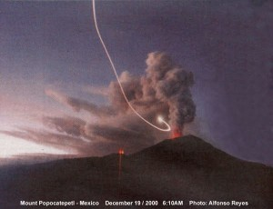 Mount Popocatepetl mexico ufo