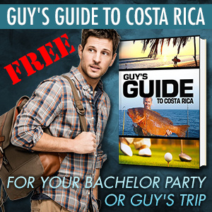 Costa Rica Bachelor Party/Guys Trip E-Book