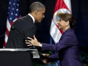 Barack Obama, Laura Chinchilla