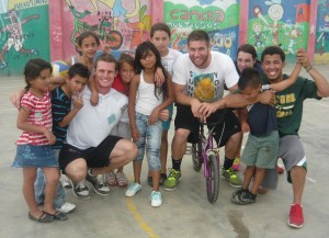 Central America sports and education project