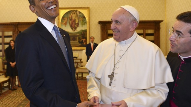 obama pope francis