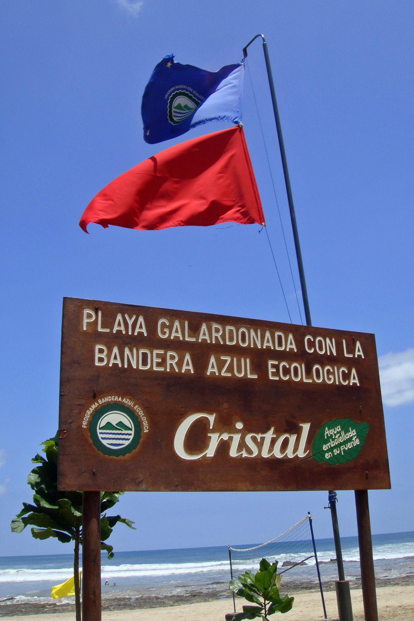 Bandera Azul Ecologica (Ecological Blue Flag)