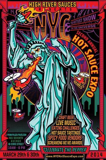NYC Hot Sauce Expo 2014 costa rica 1