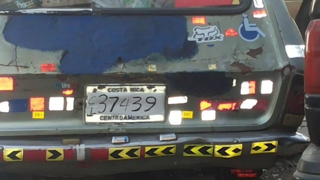 New Costa Rican License Plates