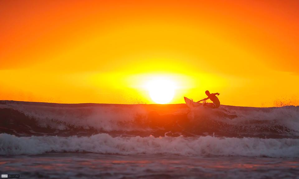 surfing and sunset scott alexander
