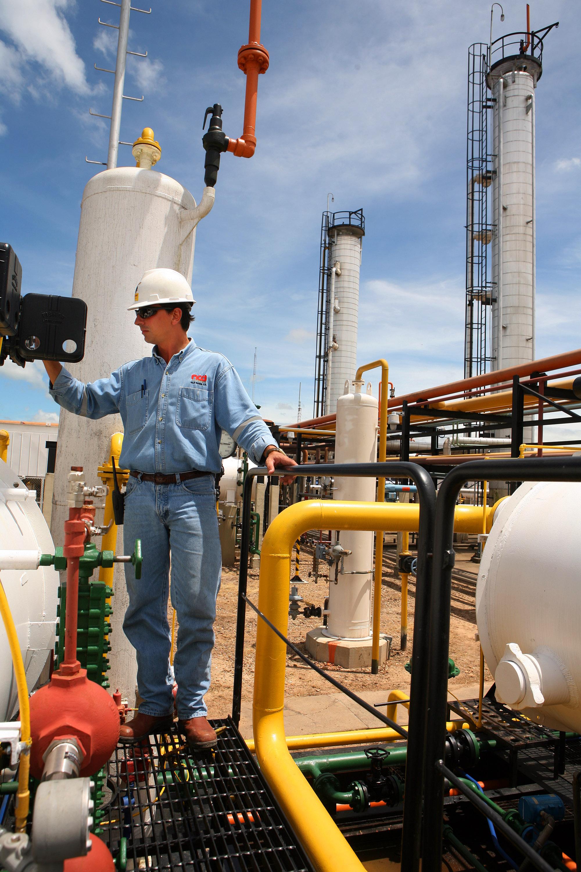 Bolivia's Repsol Rio Grande natural gas plant