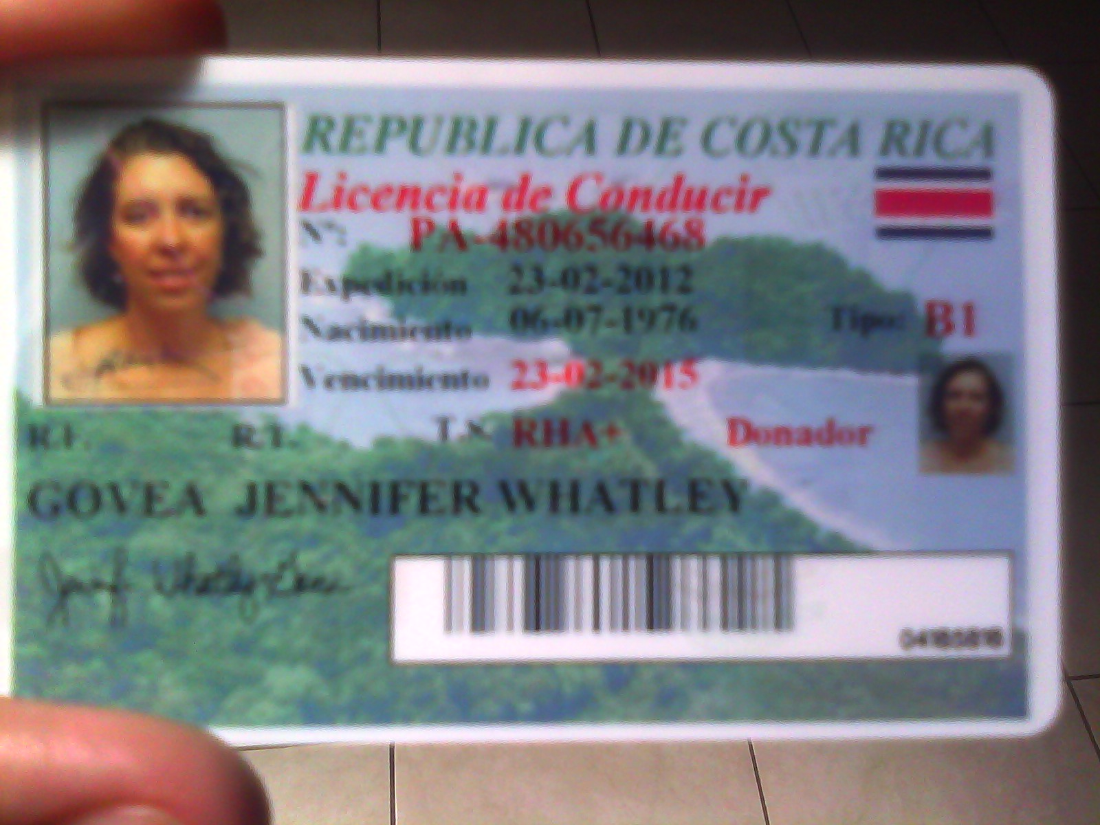 Costa Rica Drivers License Renewal at the Bank? | The Costa