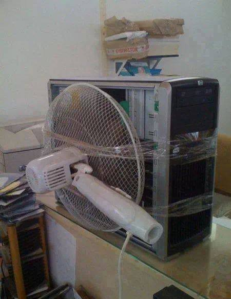 Keeping the Computer Cool CR Style