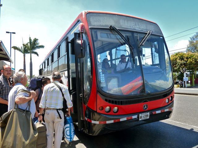 Costa Rica Bus Travel Times