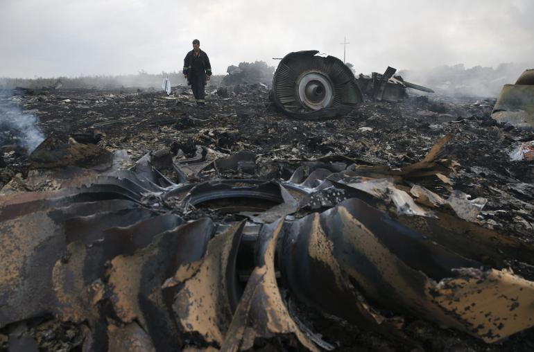 mh17-crash photos