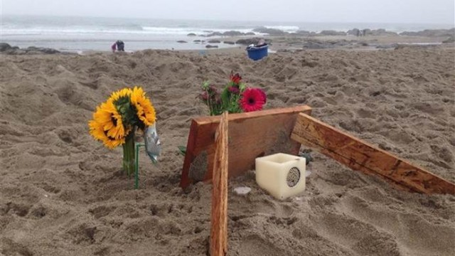 9 year old dies at orgeon beach