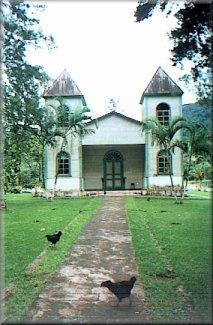 La iglesia de San José de Cedral montes de oro church