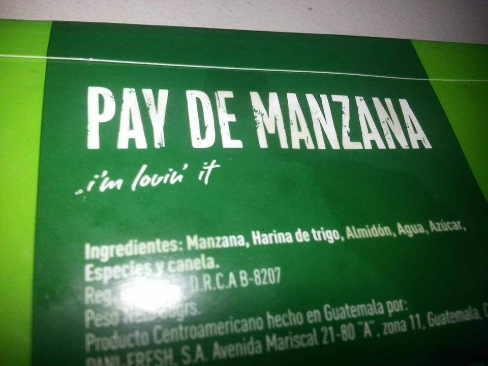 Only in Costa Rica Micky D's Style