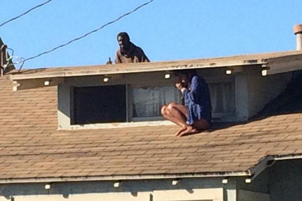 Melora-Rivera terror on the roof