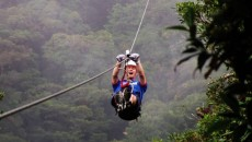 costa rica zipline bachelor party