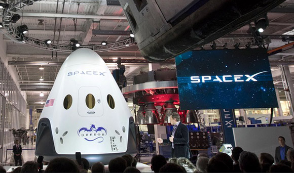 space taxi spaceX NASA main
