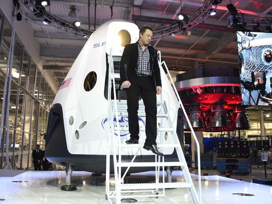 space taxi spaceX NASA