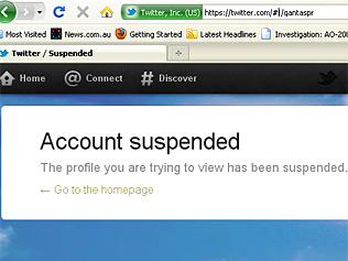 twitter account suspended ISIS 1