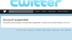 twitter account suspended ISIS