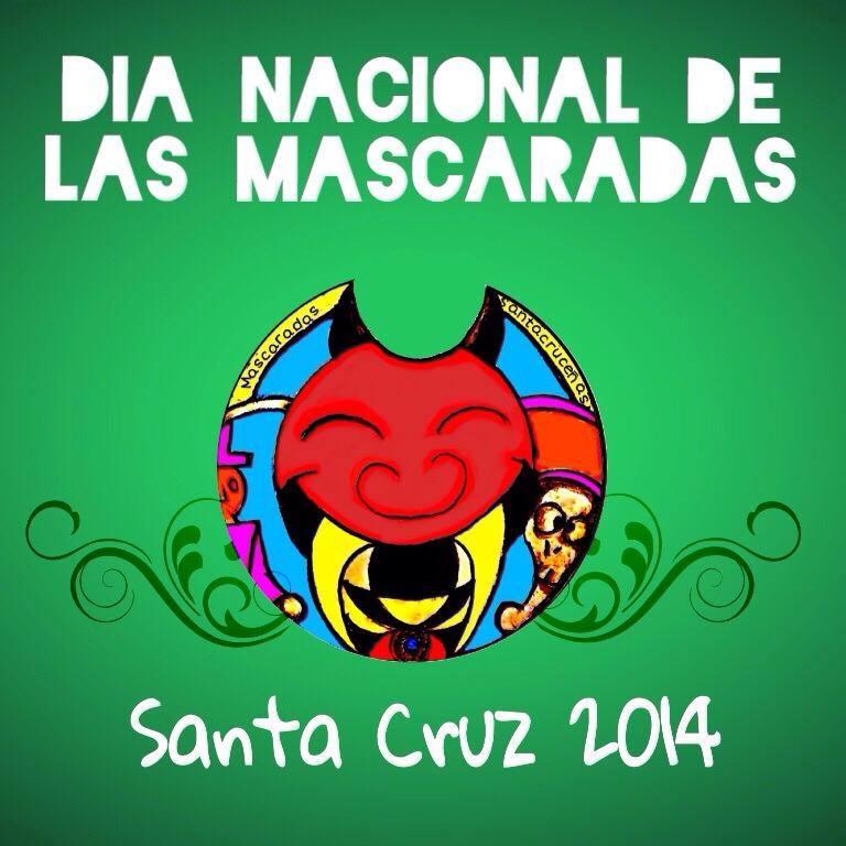 Dia Nacional de Las Mascaradas costa rica 2014 santa cruz
