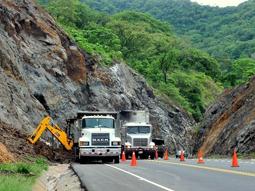 costa rica landslides