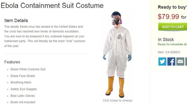 ebola halloween costume