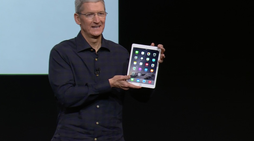 iPad Air 2 release information 1
