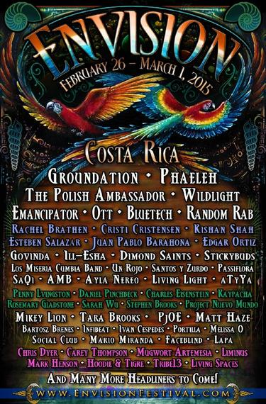 2015 envison festival costa rica