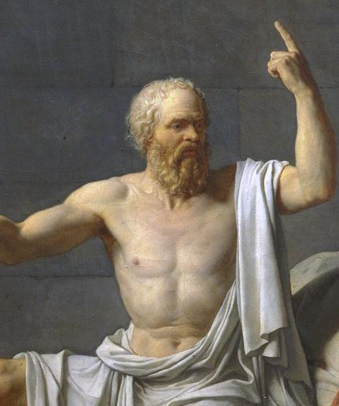 Socrates writing
