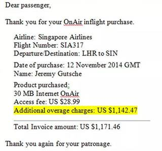 wifi airplane bill