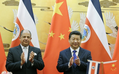 costa rica china relations