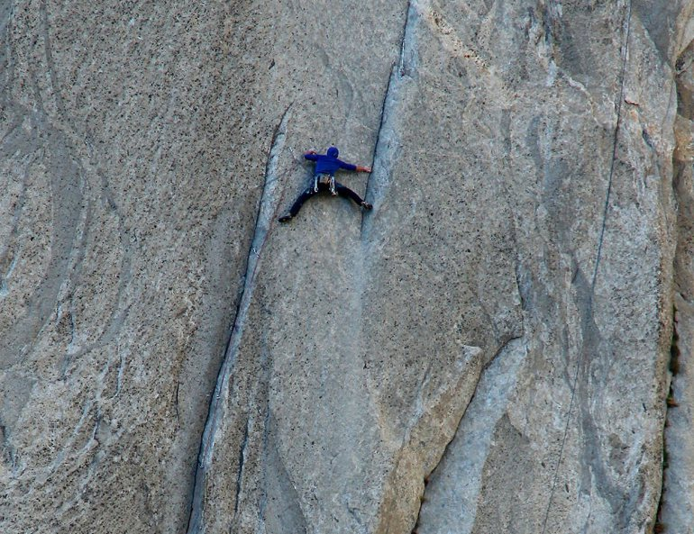 Free Climbing at Yosemite National Park