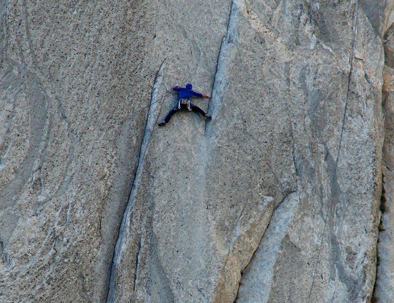 Free Climbing at Yosemite National Park