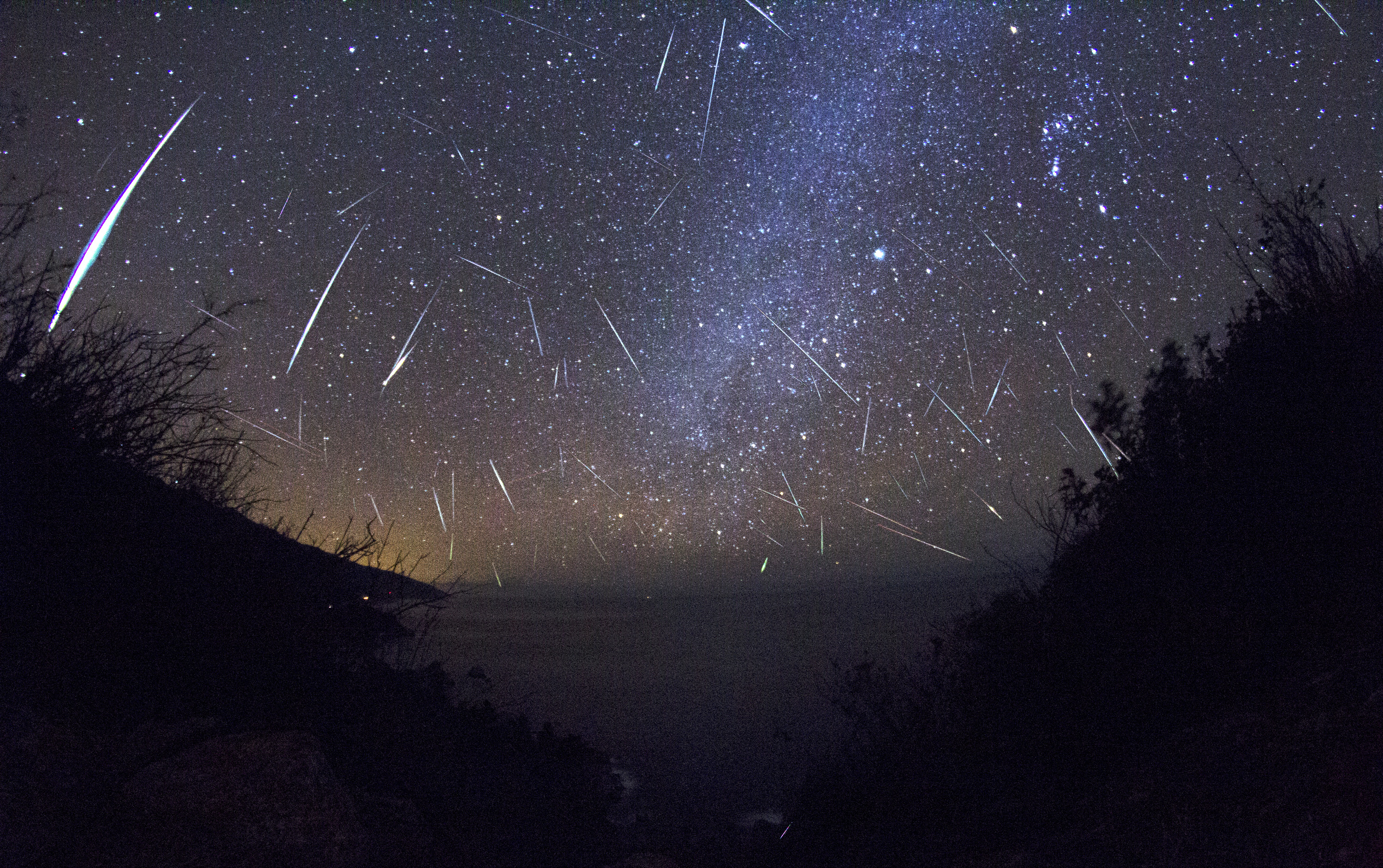 meteor shower radar costa rica