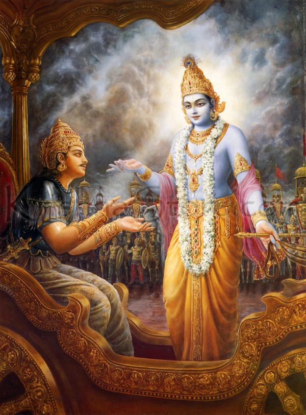 Bhagavadgita Arjuna Krishna