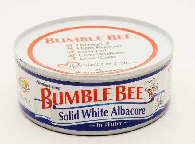 bumble bee tuna man cooked accident