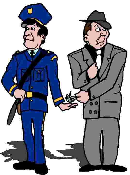 costa rica bribing a cop