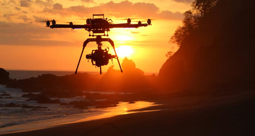 costa rica drones