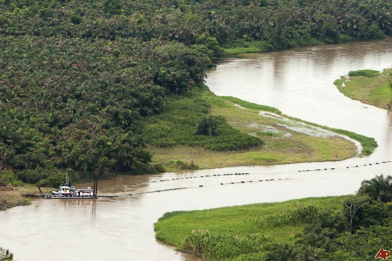 costa rica river dredging