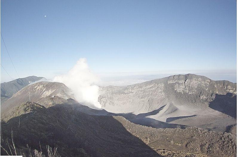 costa rica turrialba volcano eruption