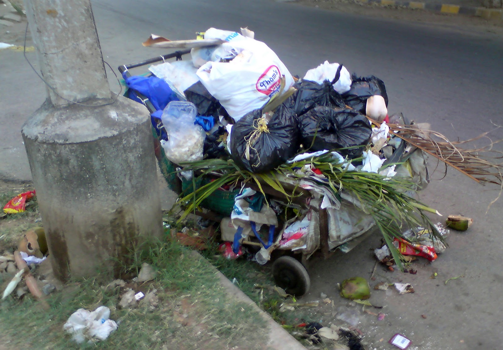 costa rica garbage in drains flooding