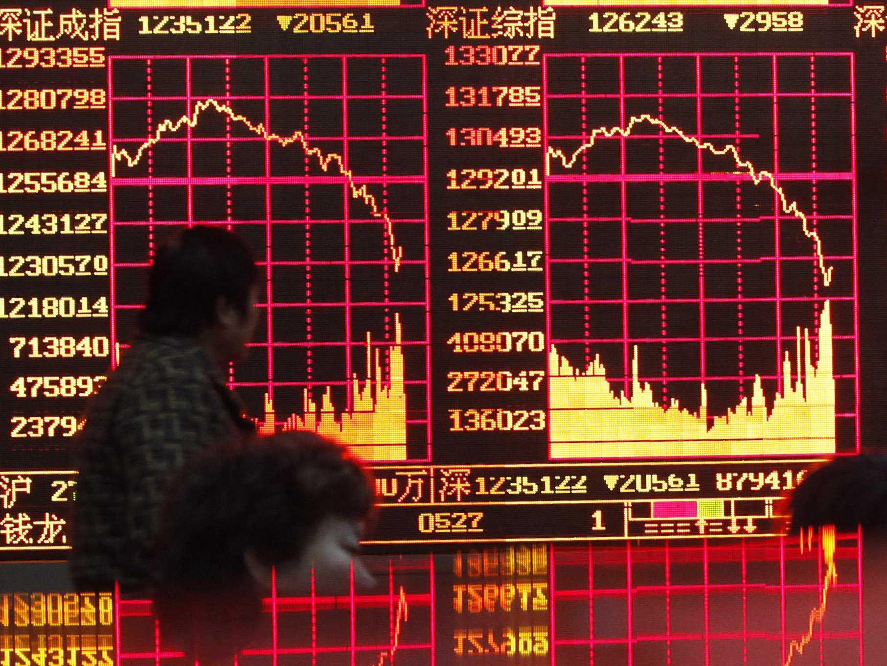 china stock market crash 1