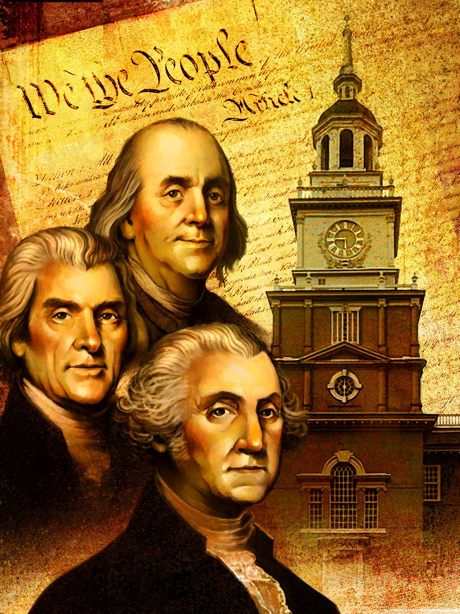 founding fathers 4th of july