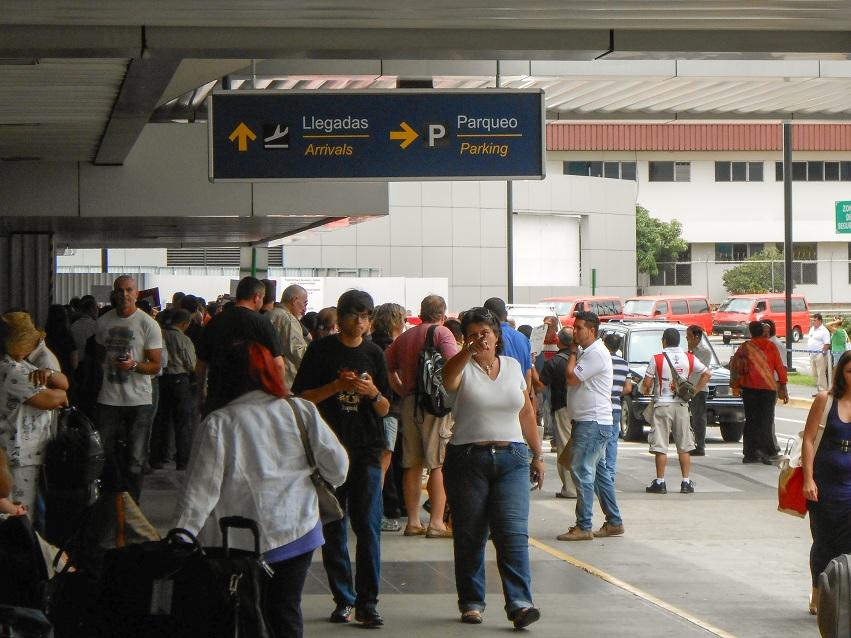 san jose airport exit